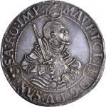 GERMANY. Saxony. Taler, 1552. Moritz (1541-53). ICG AU-58.