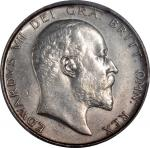 1906年英国半克朗银币,PCGS AU Details,有清洗