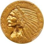 1911-D $5 Indian. PCGS MS61