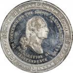 1876 H.G. Sampson store card. Musante GW-827, Baker-573C, Rulau Ny-Ny 270C. White Metal. SP-63 (PCGS