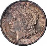 1883-S Morgan Silver Dollar. MS-63 (NGC).