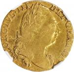 GREAT BRITAIN. Guinea, 1776. George III (1760-1820). NGC VF Details--Removed from Jewelry.
