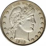 1913-S Barber Half Dollar. AU Details--Corrosion Removed (PCGS).