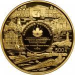 1999年澳门回归祖国(第3组)纪念金币5盎司 NGC PF 69 CHINA. 500 Yuan, 1999