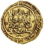 GHORID OF BAMIYAN: Baha al-Din Sam, 1192-1206, AV dinar (4.34g), MM, AH602, A-1803, double-struck, c