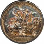 1781 Lieutenant Colonel John Egar Howard Medal. Silver. 46.5 mm. Betts-595, Adams and Bentley-12, Ju