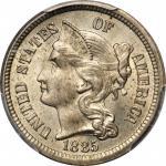 1885 Nickel Three-Cent Piece. MS-65 (PCGS).