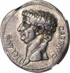 CLAUDIUS, A.D. 41-54. AR Cistophorus (11.02 gms), Ephesus Mint, ca. A.D. 41-42. NGC Ch VF, Strike: 4