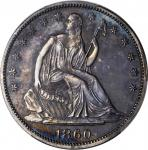1860 Liberty Seated Half Dollar. Proof-64 (PCGS).