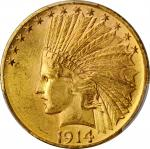1914-D Indian Eagle. MS-64 (PCGS).
