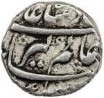 India - Mughal Empire. MUGHAL: Aurangzeb, 1658-1707, AR ¼ rupee nisar (2.83g), Akbarabad, AH1071 yea