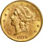 1879-S Liberty Head Double Eagle. MS-61 (PCGS). CAC.