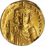 CONSTANTINE IV, 668-685. AV Solidus (4.27 gms), Constantinople Mint, 6th Officinae.