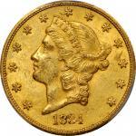 1884-CC Liberty Head Double Eagle. MS-61 (PCGS). CAC.