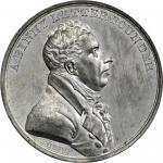 Undated (ca. 1816) Archibald Binny Medal. Joined White Metal Splashers. By Moritz Furst. Neuzil-51.