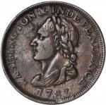 """1783"" (Circa 1820) Washington Unity States Cent. Musante GW-104, Baker-1, W-10130. Rarity-1. EF-40."