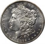 1892-CC Morgan Silver Dollar. MS-62 (ANACS). OH.