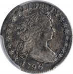 1796 Draped Bust Dime. JR-2. Rarity-4. VF-35 (PCGS).