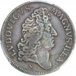 TOBAGO Louis XIV (1643-1715). Jeton pour la victoire française sur les Hollandais ND (c.1677), Paris