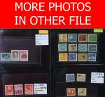 China PR.; 1954-80 Collection of unmounted and hinged mint complete set of Series C, J, T, and R.