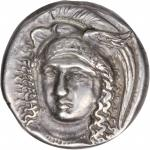 ITALY. Lucania. Velia (Hyele, Elea). AR Didrachm (7.29 gms), ca. 340-300 B.C. VERY FINE.