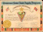 United States of America. World War II Era Collection of Savings Bond Participation Certificates, 19