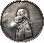 1801年托马斯印第安和平奖章 极美 1801 Thomas Jefferson Indian Peace Medal