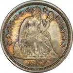 1859 Liberty Seated Dime. Fortin-107. Rarity-3. MS-67 (PCGS). CAC.
