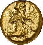 PERSIA. Achaemenidae. Xerxes II to Artaxerxes II, ca. 420-375 B.C. AV Daric (8.32 gms). NGC AU, Stri