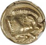 LESBOS. Mytilene. EL Hekte (2.53 gms), ca. 454-427 B.C.