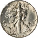 1934 Walking Liberty Half Dollar. MS-64 (PCGS). CAC.