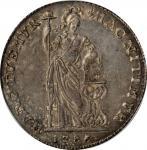 1786年荷属东印度海尔德兰3古尔登。NETHERLANDS EAST INDIES. Gelderland. 3 Gulden, 1786. PCGS AU-55 Gold Shield.