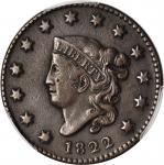 1822 Matron Head Cent. VF Details--Gouged (PCGS).
