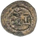SASANIAN KINGDOM: Yazdigerd II, 438-457, AE pashiz (1.32g), G-166, SNS-48, king s bust right, tamgha
