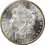 1892-CC Morgan Silver Dollar. MS-63 (PCGS).