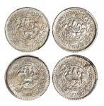 西藏桑松果木五钱狮子四枚 PCGS MS 62