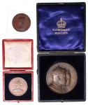 Great Britain, group of 3 medallions, Diamond Jubilee of Queen Victoria, 1897, copper, 37mm, Nelson