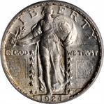 1924-S Standing Liberty Quarter. MS-65 (PCGS). CAC. OGH.
