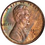 1911-S Lincoln Cent. MS-65 RB (NGC). OH.