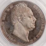 英国 (Great Britain) ウィリアム4世像 1クラウン銀貨 1831年 KM715 / William IV 1 Crown Silver Proof