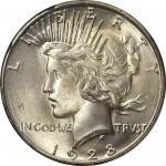1928-S Peace Silver Dollar. MS-65 (PCGS).