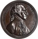 1797 (ca. 1805) Sansom Medal. Original. Bronze. 40 mm. By John Reich, for Joseph Sansom. Musante GW-