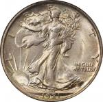 1921 Walking Liberty Half Dollar. MS-64 (NGC). CAC.