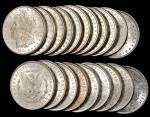 Lot of (57) 1880-O Morgan Silver Dollars. About Uncirculated.