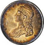1836 Capped Bust Half Dollar. Lettered Edge. O-123. Rarity-4. AU-58 (PCGS).