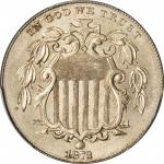 1873 Shield Nickel. Close 3. MS-65+ (PCGS).