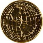 PANAMA. 500 Balboas, 1978-FM. Franklin Mint. NGC MS-68.