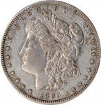 1893-S Morgan Silver Dollar. VF-35 (PCGS).