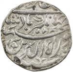 Lot 2388 MUGHAL: Jahangir, 1605-1628, AR jahangiri rupee 4013.43g41, Tatta, AH1019 year 5, KM-152.7,