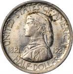 1921 Missouri Centennial. Plain. MS-66 (PCGS).
